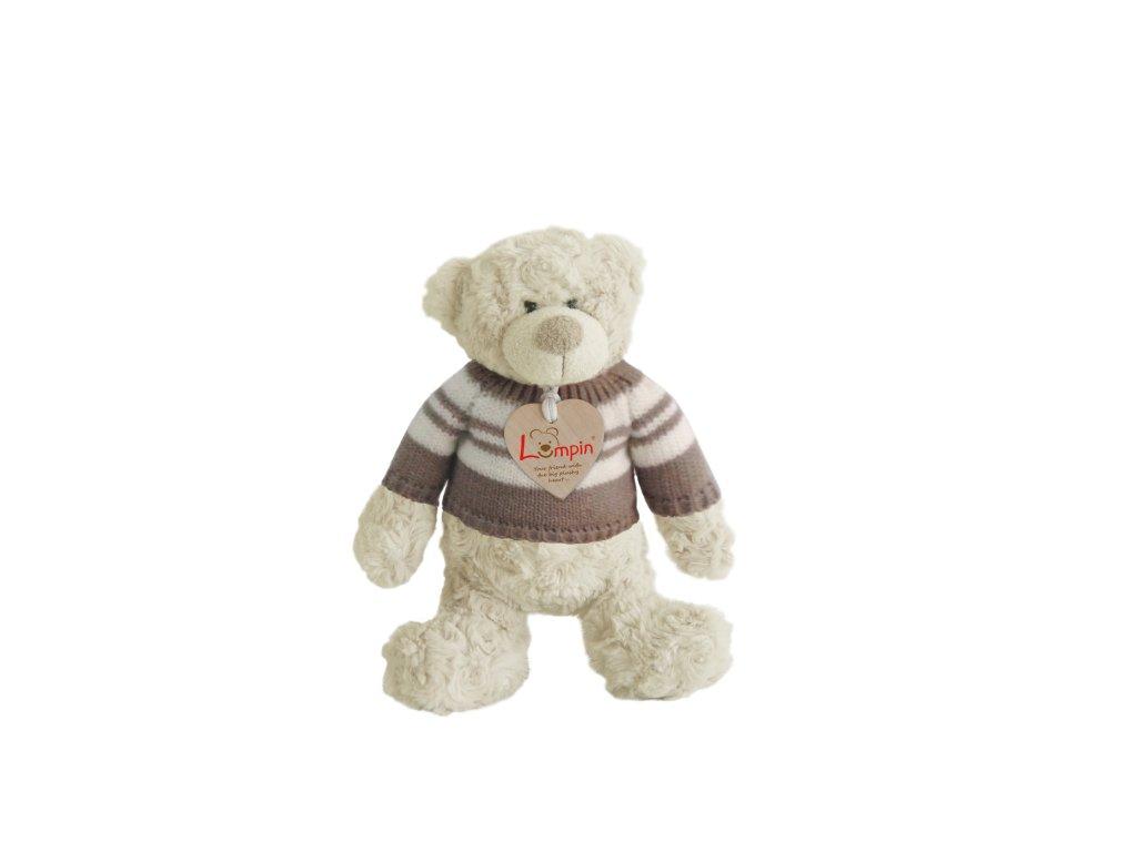Medvěd SPENCER ve svetru (26cm)
