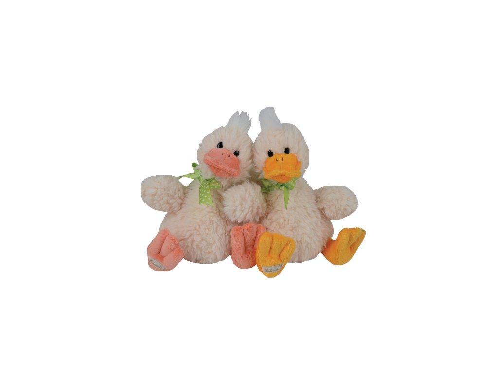kachna QUACK BROTHERS (oranžový zobák)