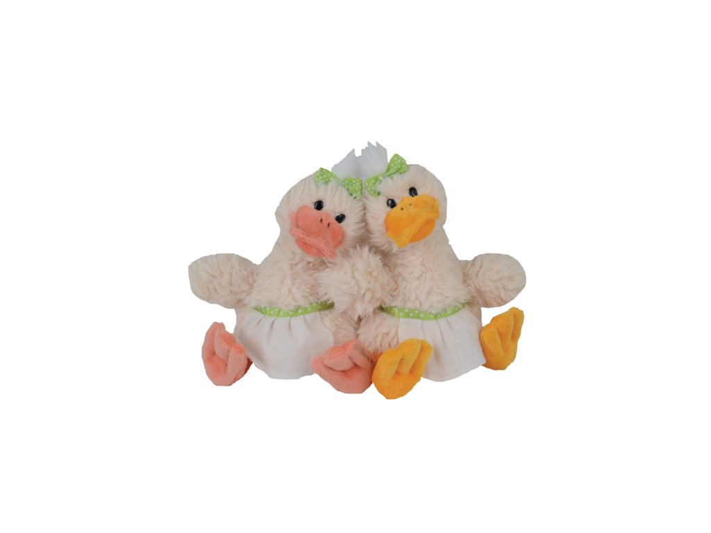 kachna QUACK SISTERS (růžový zobák)
