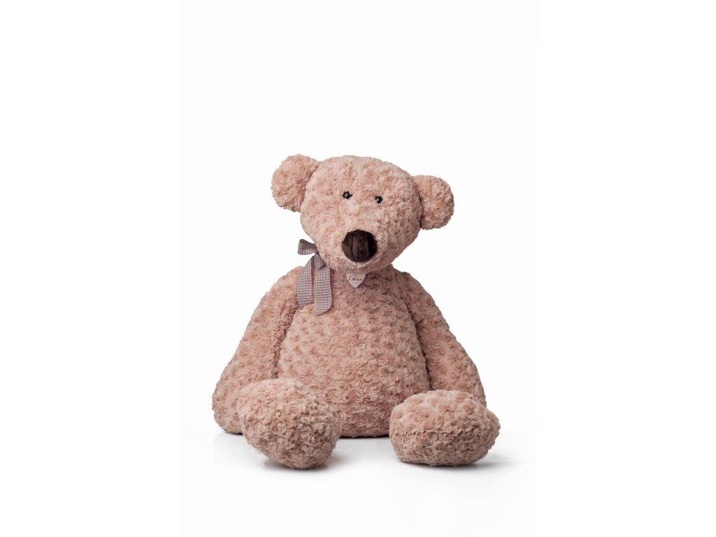 Medvěd LUMPIN s mašlí JUMBO (95 cm) LUMPIN