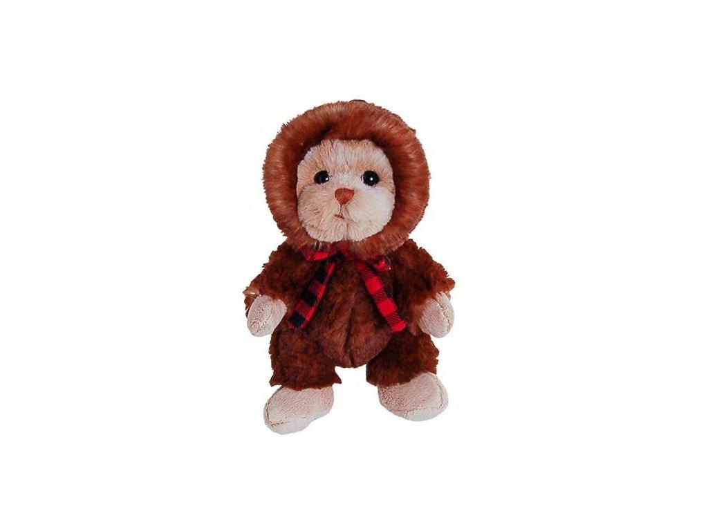 medvídek ADELINE - hnědý v ušance
