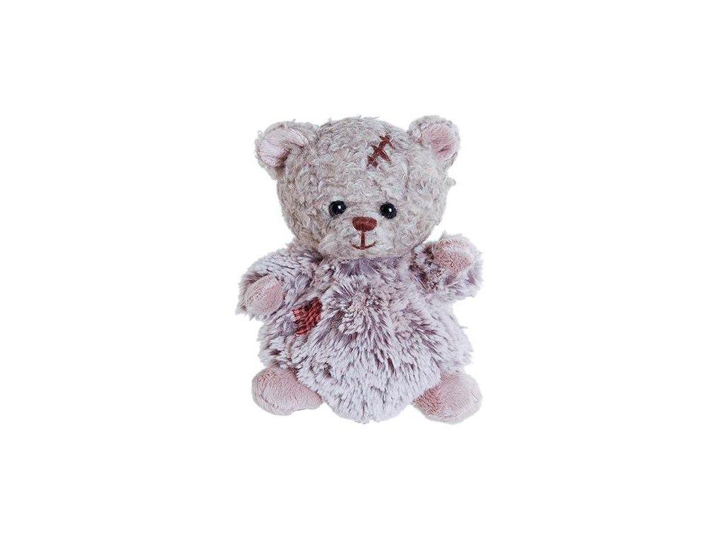medvídek BABY ARNOLD - šedý s kožíškem