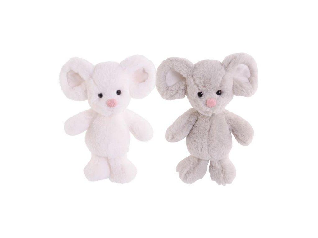 BK LITTLE BOBIK myška bílá (15cm) Bukowski Design