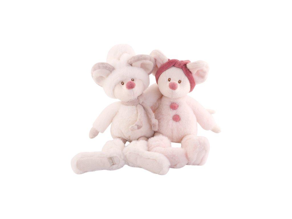 BK ANNA myška růžová (25cm) Bukowski Design