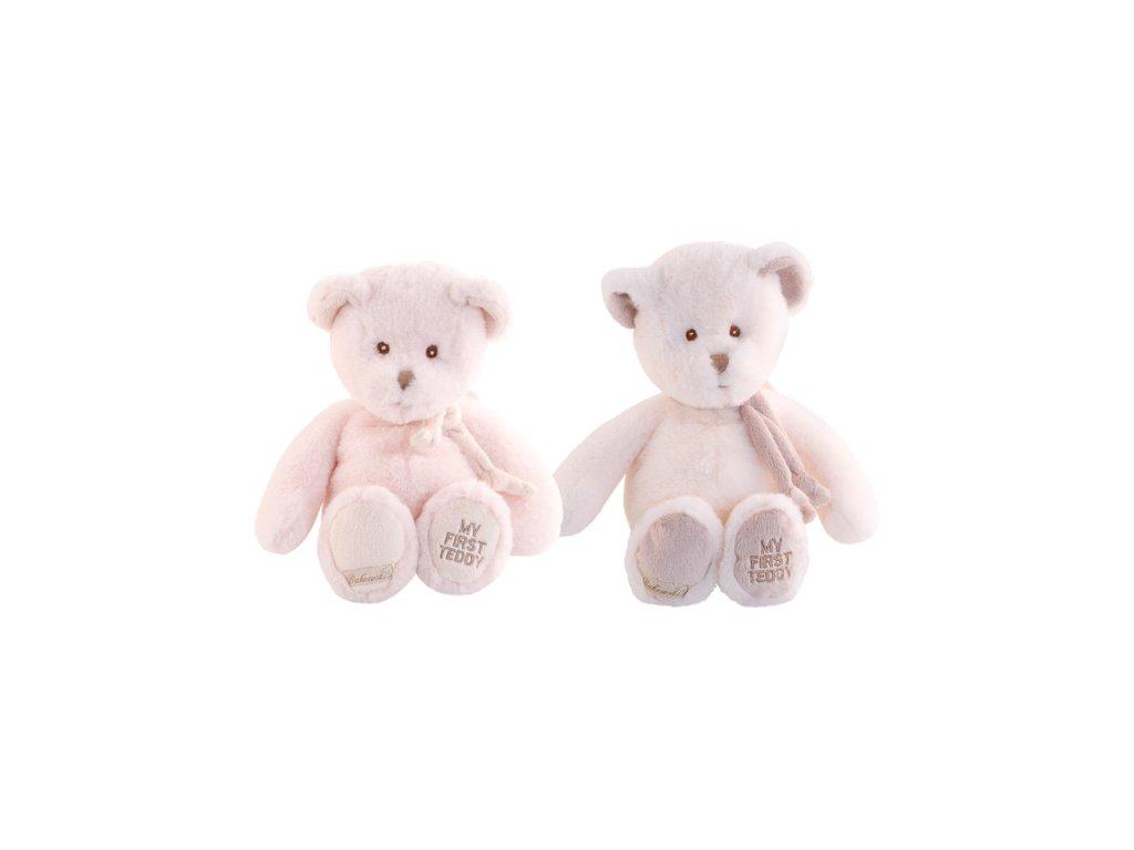 Medvídek My first teddy Maxime (růžový) (25cm)