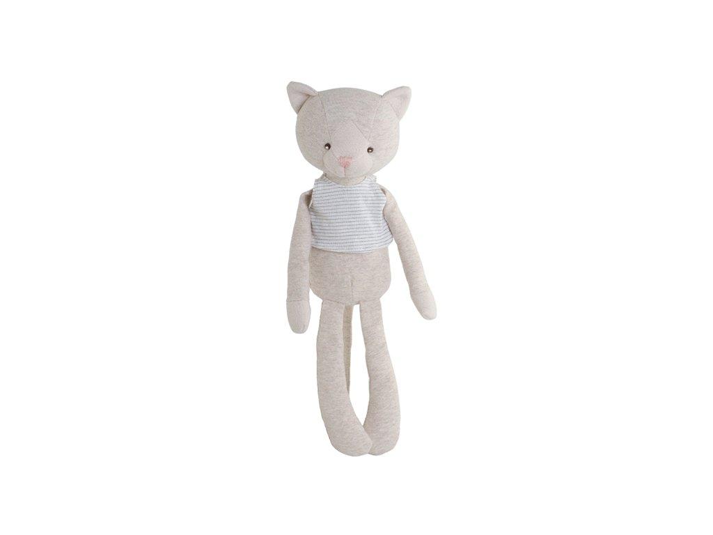 BK RAGNAR kočička v pruhovaném tílku (35cm) Bukowski Design NOVINKA