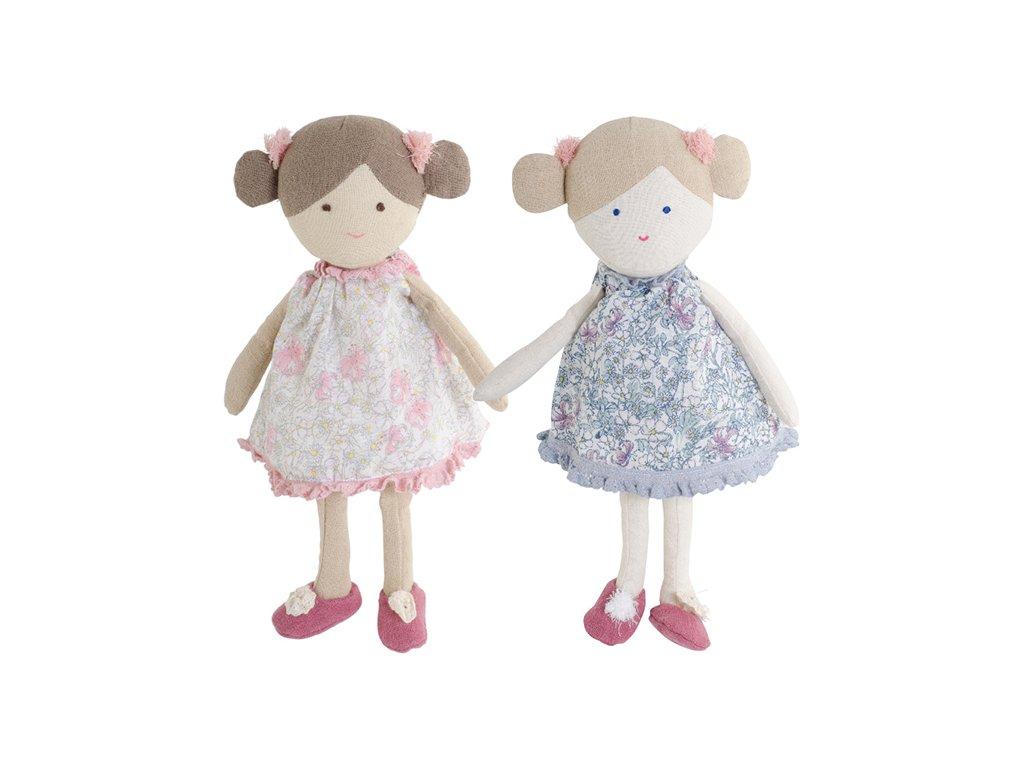BK LULU panenka (25cm) v květinových šatičkách Bukowski Design NOVINKA