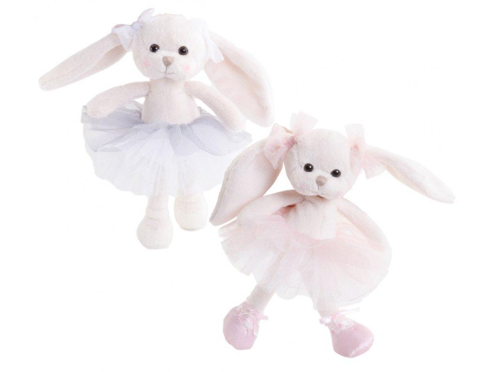 BK LITTLE DANCING MONIQUE zajíček baletka (15cm)
