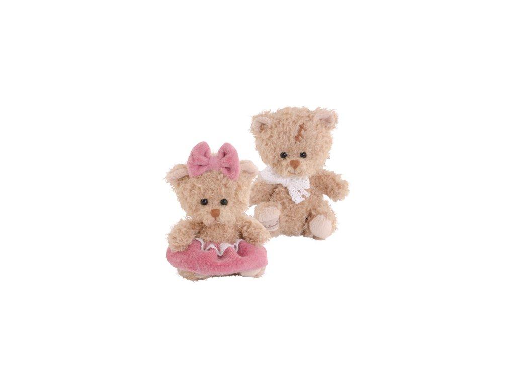 Medvídek Cupcake girl, růžová sukně (10cm)