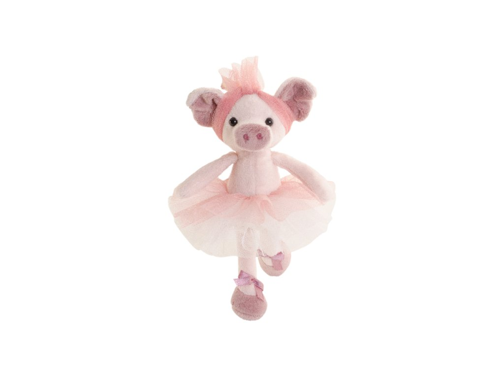 BK BABY OLGA prasátko v růžové sukni (15cm) Bukowski Design NOVINKA