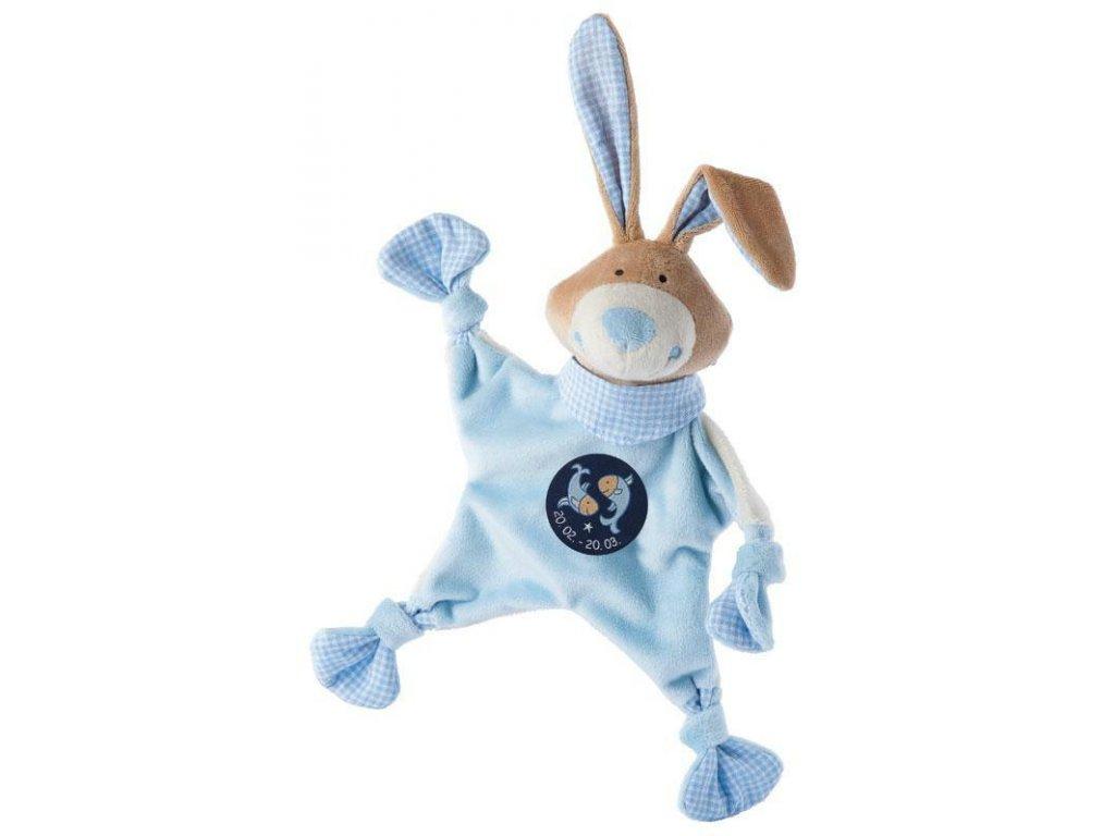 Muchláček znamení - RYBY - modrý zajíc