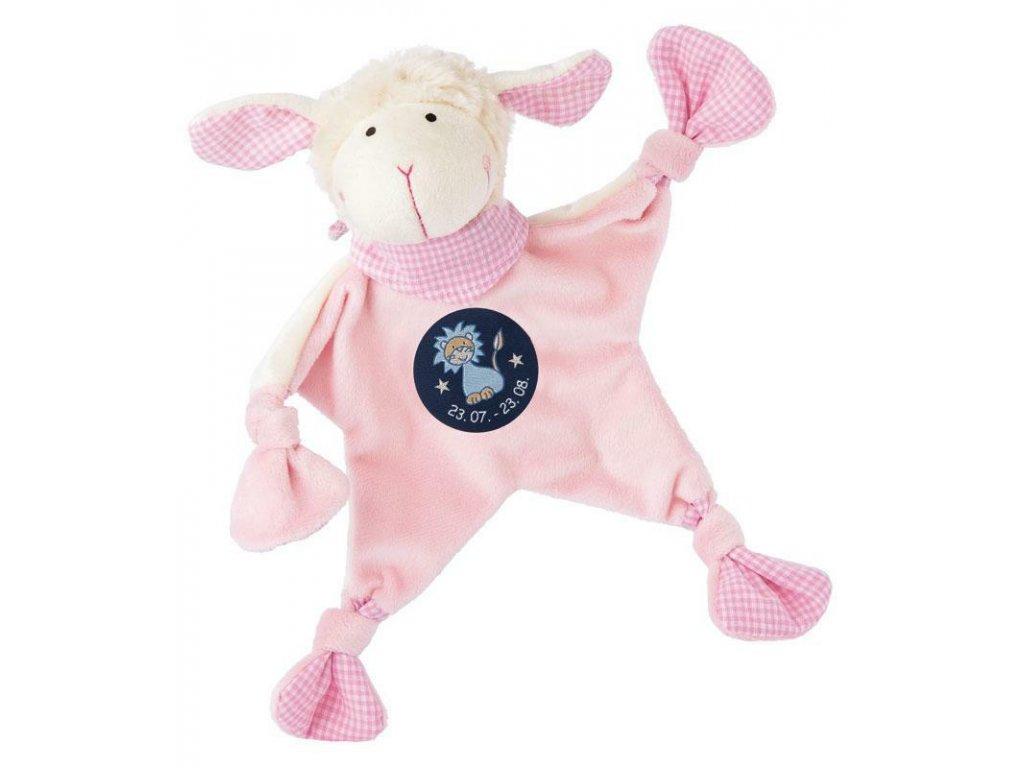 Muchláček znamení - LEV - růžová ovečka