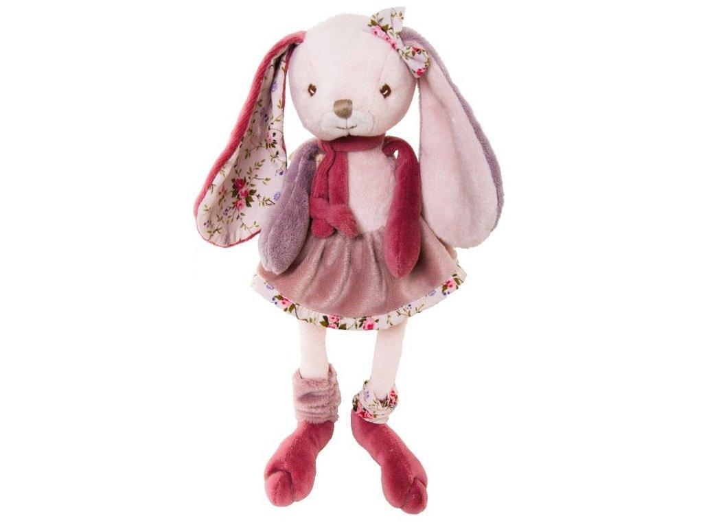 BIBI zajíček holčička, růžová sukně