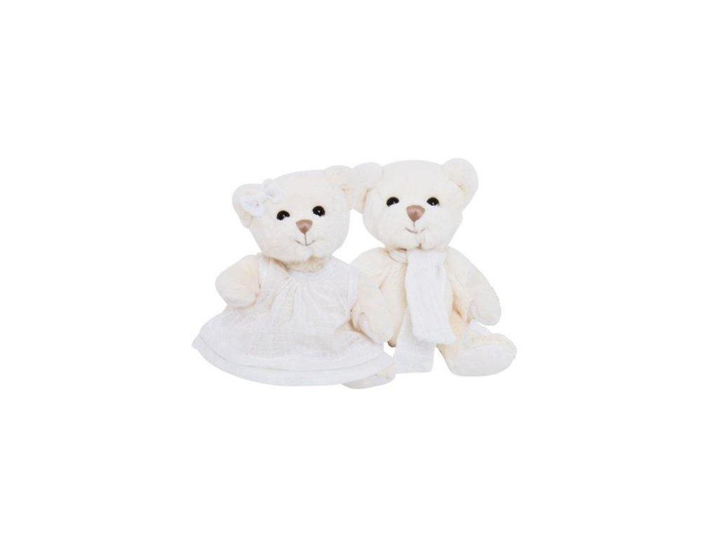 medvídek OLIVER bílý