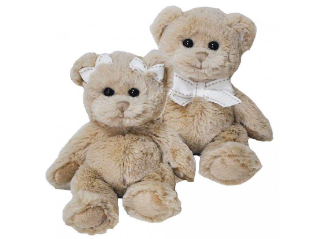 medvídek NINA - holčička mašličky malá