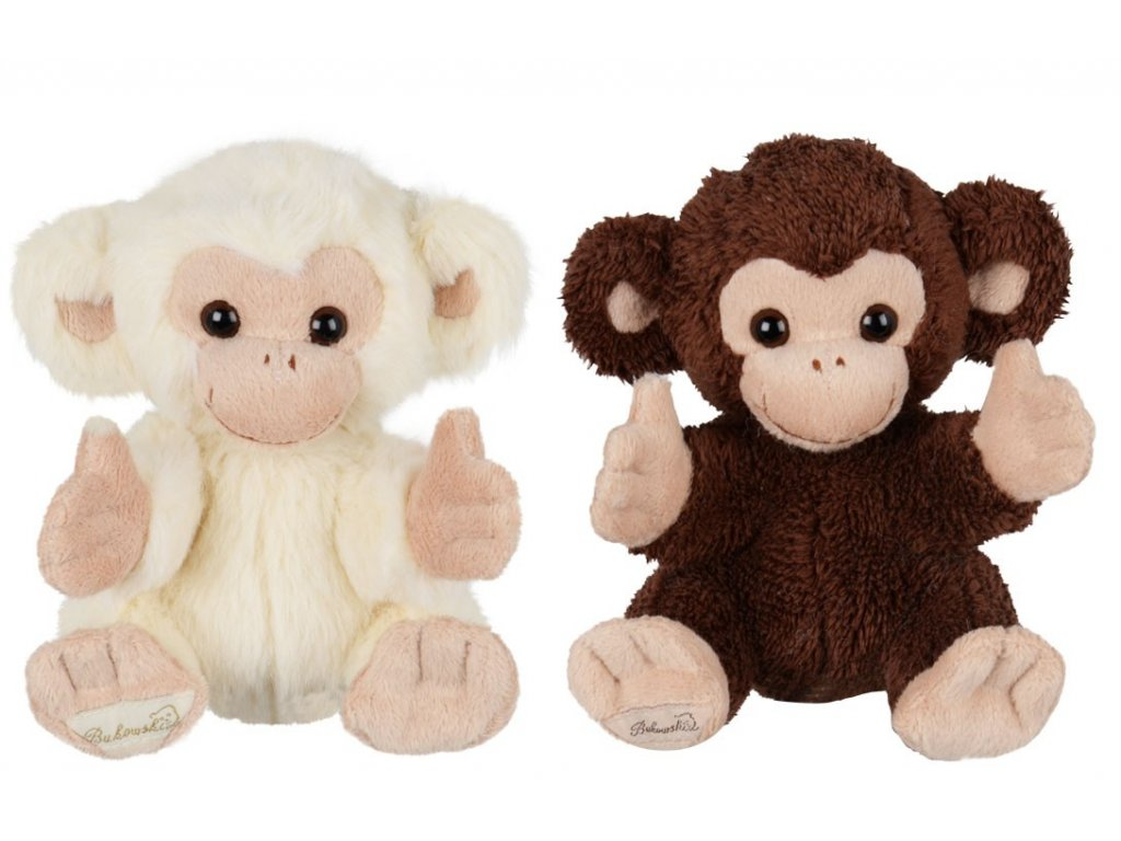 opice BABY DENIS (světlý)