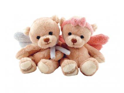 medvídek GUARDIAN ANGEL růžový (18cm)
