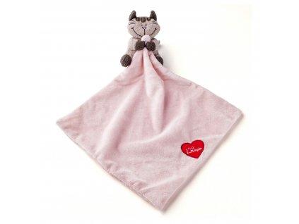 Baby kočička Angelique Muchláček 30x30 cm LUMPIN