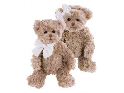 Medvídek s mašlí na krku Le Petit Ethan (25cm)