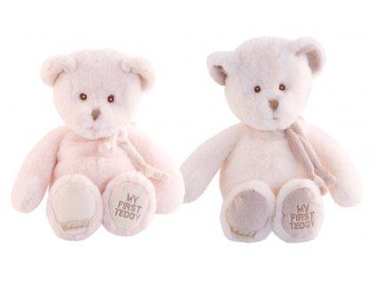 BK MAXIME medvídek rúžový (25cm) Bukowski Design