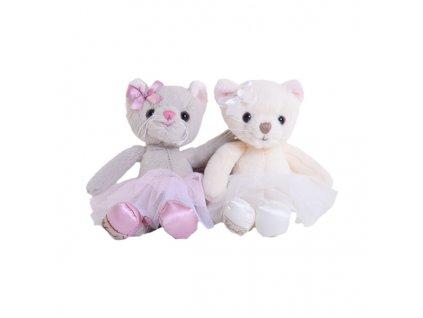 BK ANYA kočka bílá baletka (15cm) Bukowski Design NOVINKA