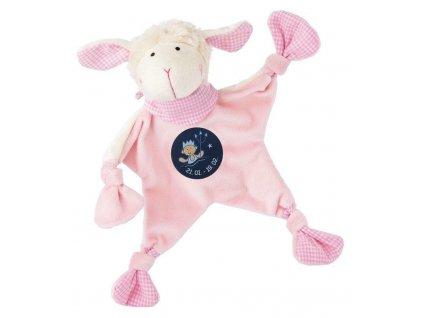 Muchláček znamení - VODNÁŘ - růžová ovečka