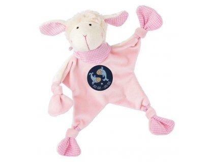 Muchláček znamení - RYBY - růžová ovečka